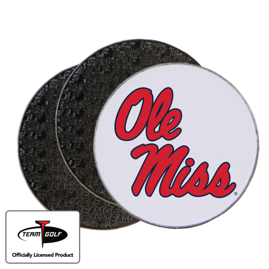 Classic Ole Miss Rebels Ball Markers - 3 Pack