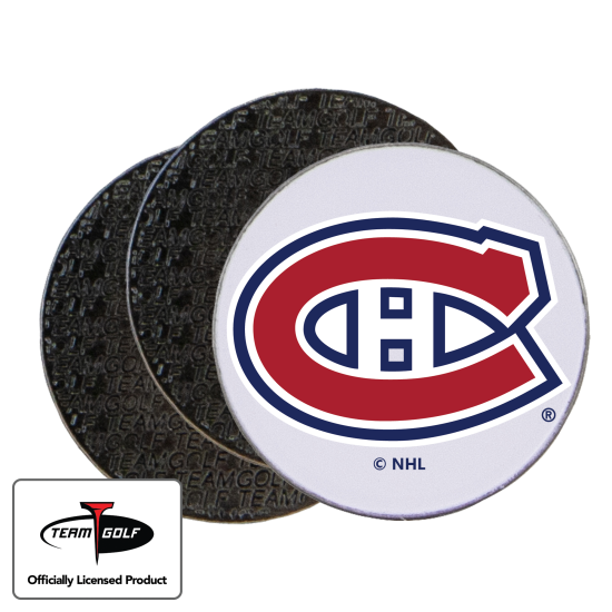 Classic Montreal Canadiens Ball Markers - 3 Pack