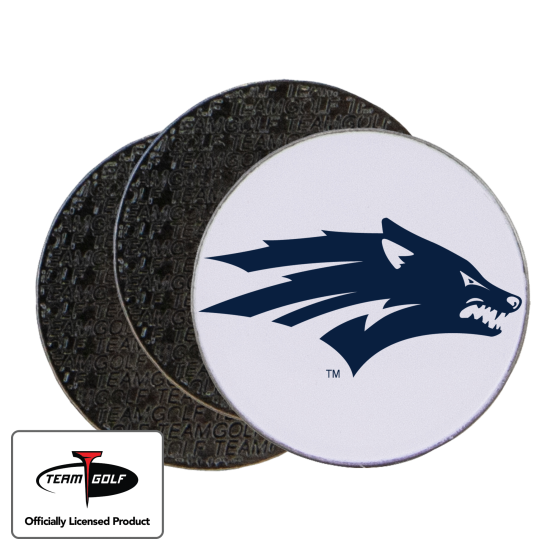 Classic Nevada Wolfpack Ball Markers - 3 Pack