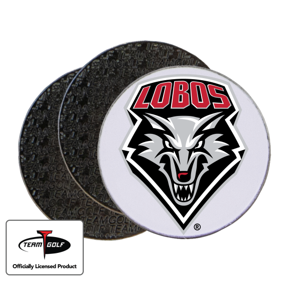 Classic New Mexico Lobos Ball Markers - 3 Pack