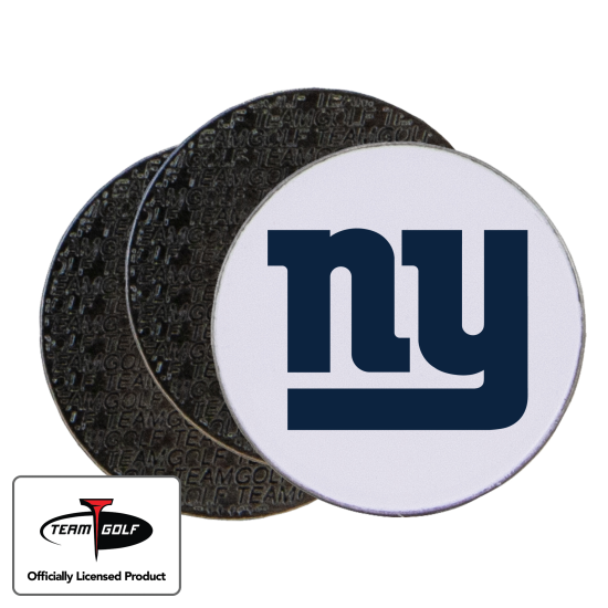 Classic New York Giants Ball Markers - 3 Pack
