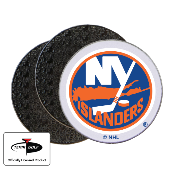 Classic New York Islanders Ball Markers - 3 Pack