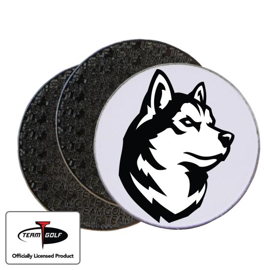 Classic Northeastern Huskies Ball Markers - 3 Pack