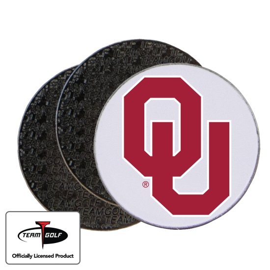 Classic Oklahoma Sooners Ball Markers - 3 Pack
