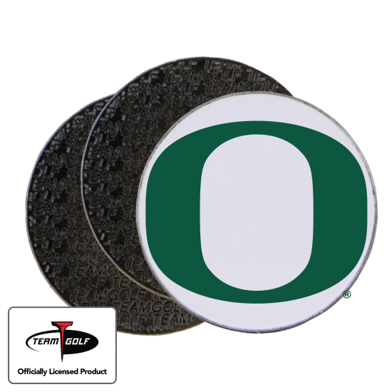 Classic Oregon Ducks Ball Markers - 3 Pack
