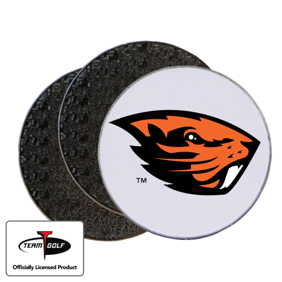 Classic Oregon State Beavers Ball Markers - 3 Pack