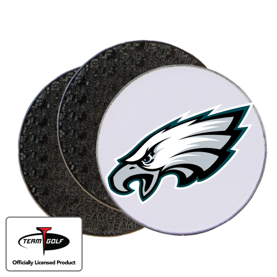 Classic Philadelphia Eagles Ball Markers - 3 Pack