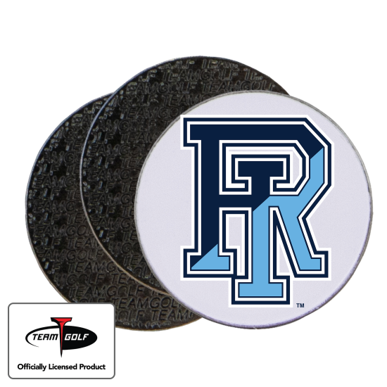Classic Rhode Island Rams Ball Markers - 3 Pack