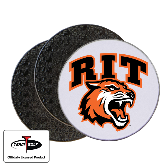 Classic RIT - Rochester Institute of Technology Tigers Ball Markers - 3 Pack