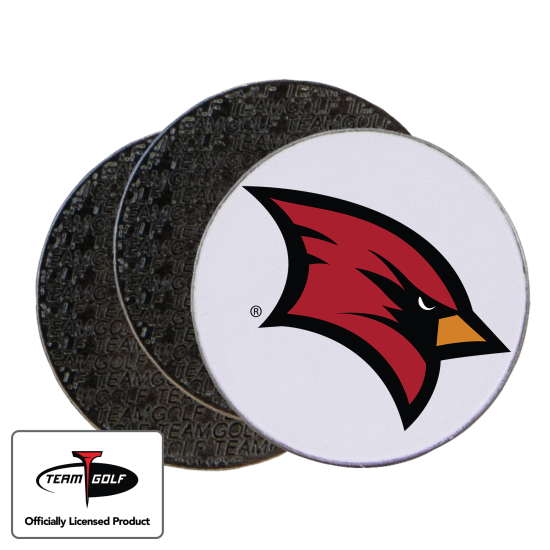 Classic Saginaw Valley State Cardinals Ball Markers - 3 Pack