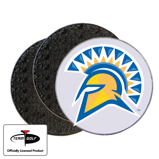 Classic San Jose State Spartans Ball Markers - 3 Pack