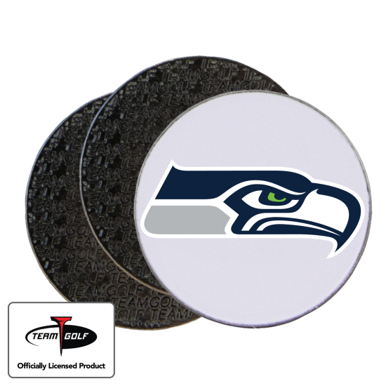 Classic Seattle Seahawks Ball Markers - 3 Pack