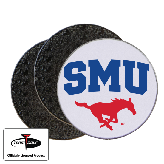 Classic SMU Mustangs Ball Markers - 3 Pack
