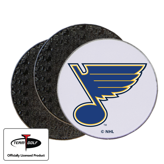 Classic St. Louis Blues Ball Markers - 3 Pack
