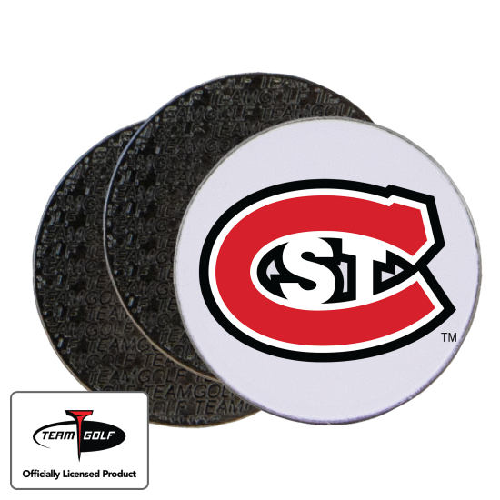 Classic St. Cloud State Huskies Ball Markers - 3 Pack