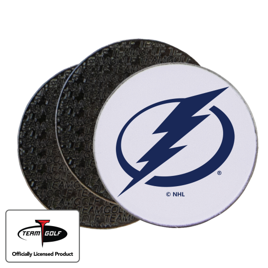 Classic Tampa Bay Lightning Ball Markers - 3 Pack