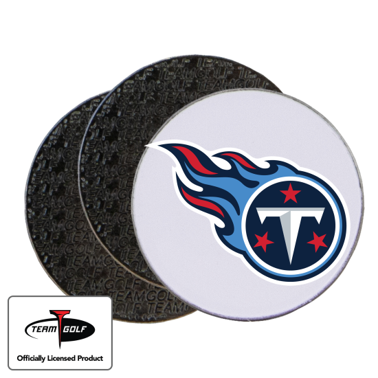 Classic Tennessee Titans Ball Markers - 3 Pack