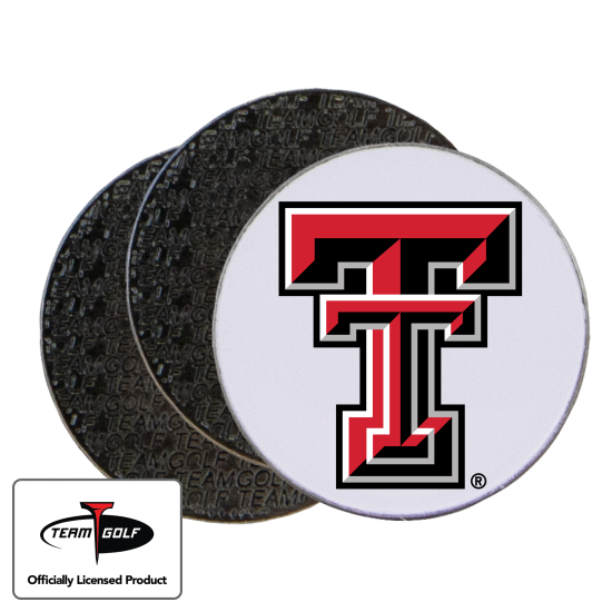 Classic Texas Tech Red Raiders Ball Markers - 3 Pack