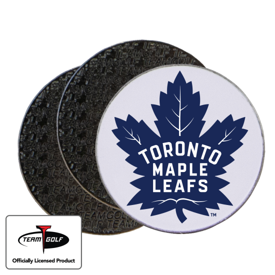 Classic Toronto Maple Leafs Ball Markers - 3 Pack