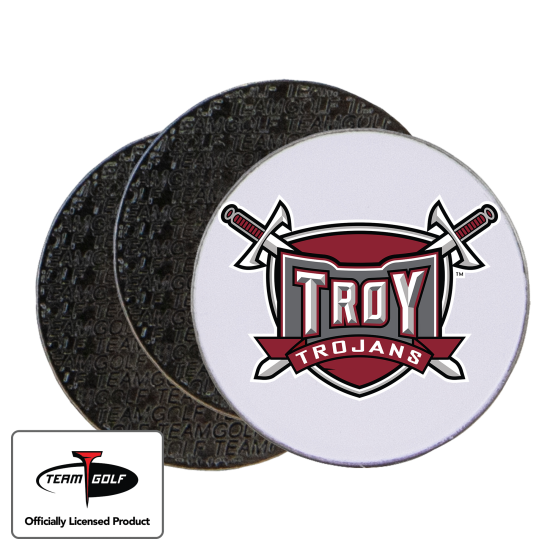 Classic Troy Trojans Ball Markers - 3 Pack