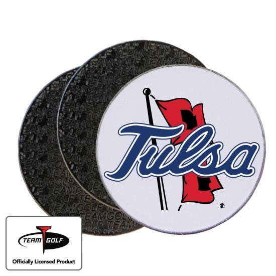 Classic Tulsa Golden Hurricane Ball Markers - 3 Pack