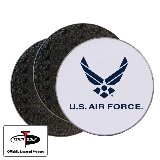 Classic US Air Force Ball Markers - 3 Pack