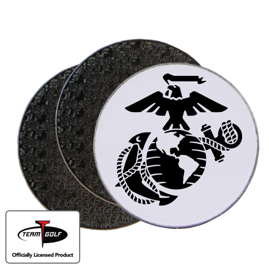 Classic US Marine Corps Ball Markers - 3 Pack