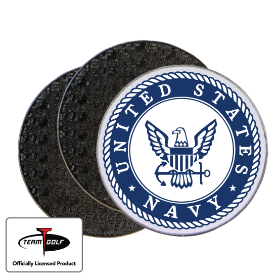 Classic US Navy Ball Markers - 3 Pack