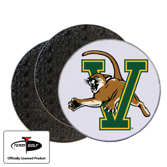 Classic Vermont Catamounts Ball Markers - 3 Pack