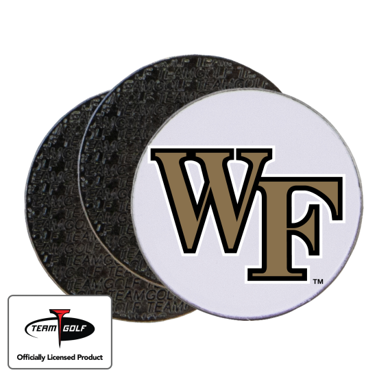 Classic Wake Forest Demon Deacons Ball Markers - 3 Pack