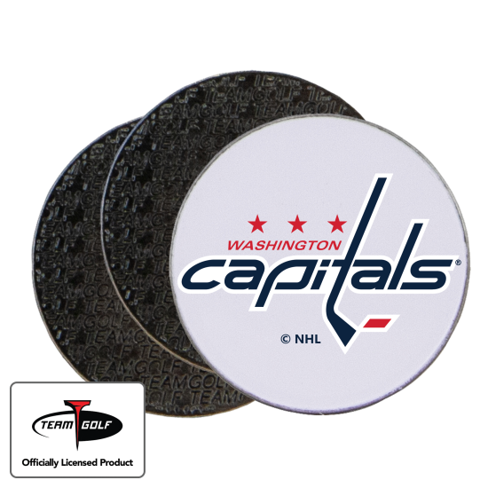 Classic Washington Capitals Ball Markers - 3 Pack