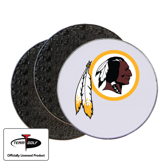 Classic Washington Redskins Ball Markers - 3 Pack