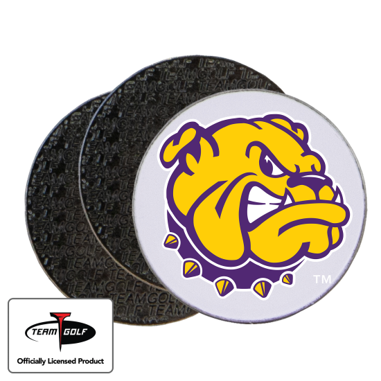 Classic Western Illinois Leathernecks Ball Markers - 3 Pack