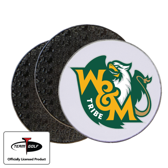 Classic William & Mary Tribe Ball Markers - 3 Pack