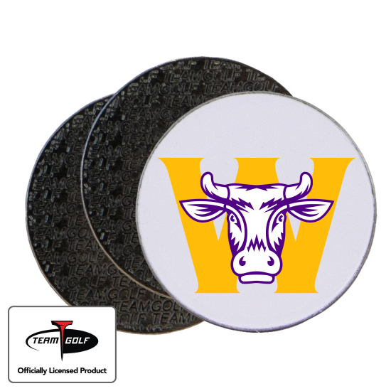Classic Williams College Ephs Ball Markers - 3 Pack