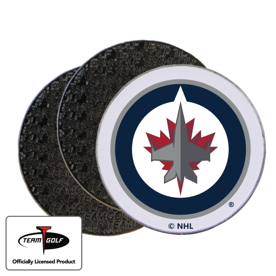 Classic Winnipeg Jets Ball Markers - 3 Pack