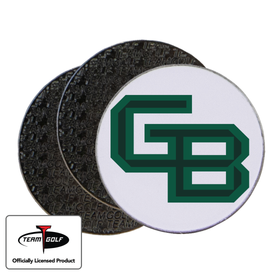 Classic Wisconsin Green Bay Phoenix Ball Markers - 3 Pack
