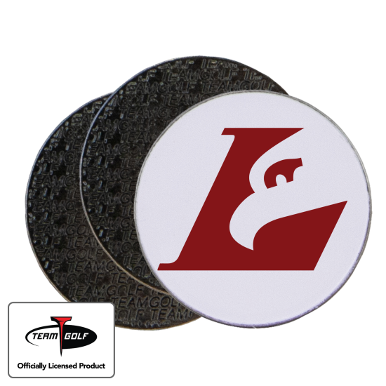 Classic Wisconsin La Crosse Eagles Ball Markers - 3 Pack