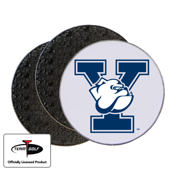 Classic Yale Bulldogs Ball Markers - 3 Pack