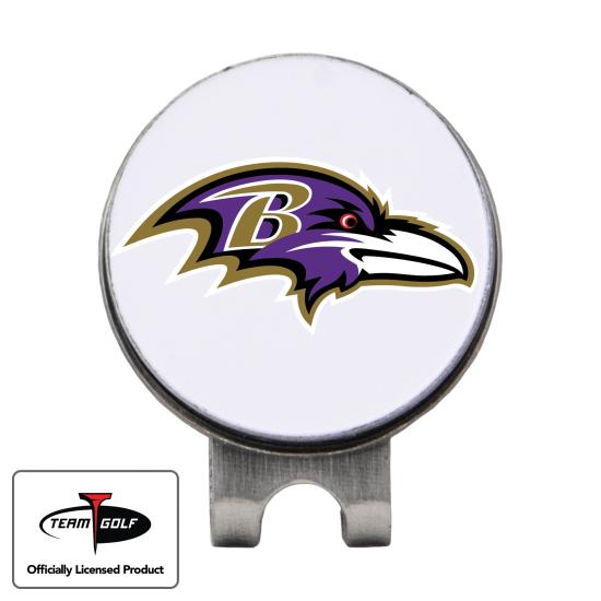 Classic Baltimore Ravens Hat Clip