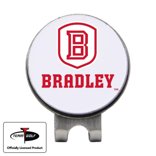 Classic Bradley Braves Hat Clip