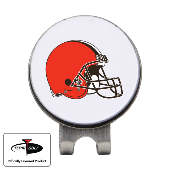 Classic Cleveland Browns Hat Clip