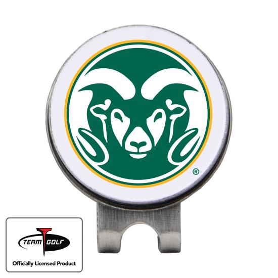 Classic Colorado State Rams Hat Clip