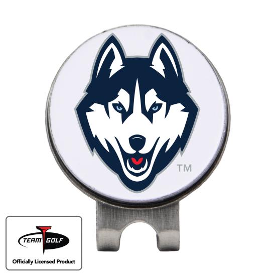 Classic UConn Huskies Hat Clip