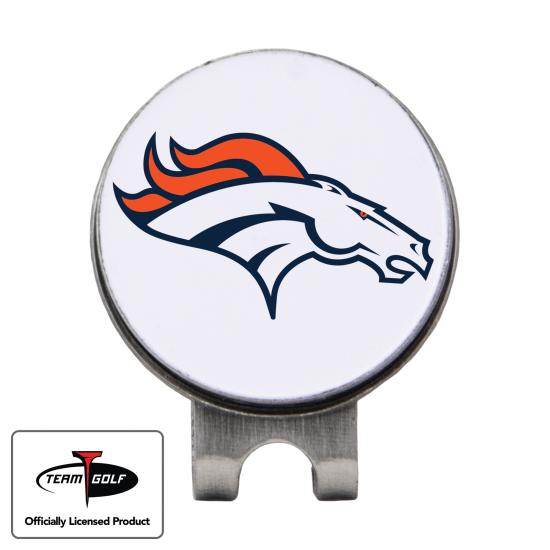 Classic Denver Broncos Hat Clip