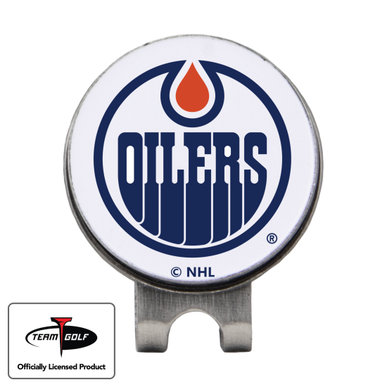 Classic Edmonton Oilers Hat Clip