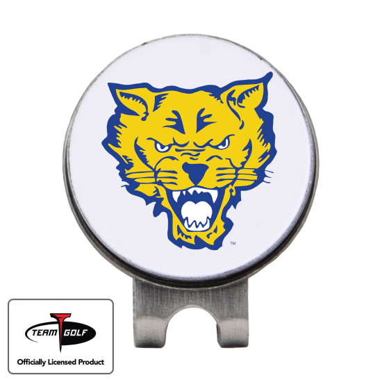 Classic Fort Valley State Wildcats Hat Clip