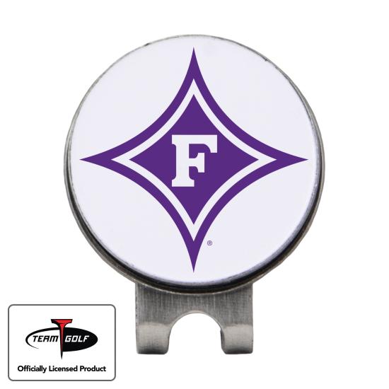 Classic Furman Paladins Hat Clip