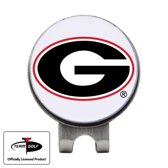Classic Georgia Bulldogs Hat Clip