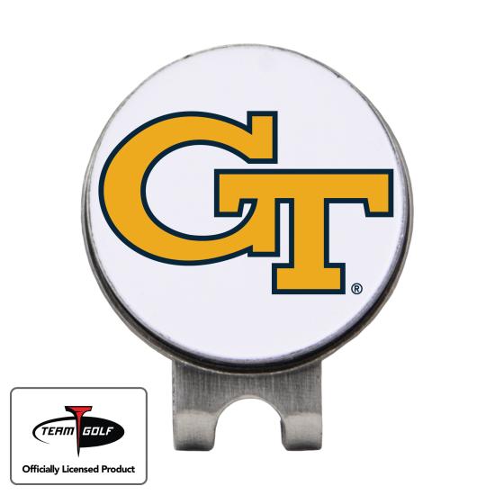 Classic Georgia Tech Hat Clip